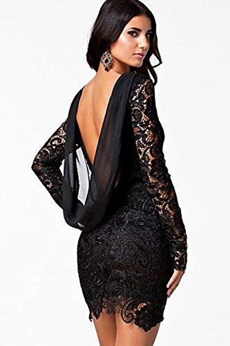KingField - Robe - Moulante - Femme Medium Noir - Noir