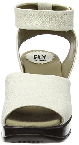 Fly London - Hert633fly, Sandali Donna Bianco (Off White (OFFWHITE))