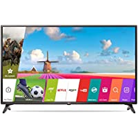 LG 108 cm (43 Inches) Full HD LED Smart TV 43LJ554T (Black) (2017 model)