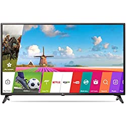 LG 108 cm (43 Inches) Full HD LED Smart TV 43LJ554T (Black)