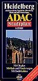 ADAC Stadtpläne, Heidelberg mit Dossenheim, Eppelheim, Oftersheim, Plankstadt und Schwetzingen - ADAC Verlag