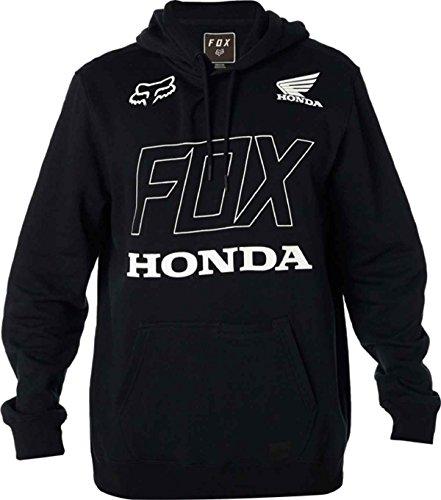 Fox Hoody Honda Schwarz Schwarz