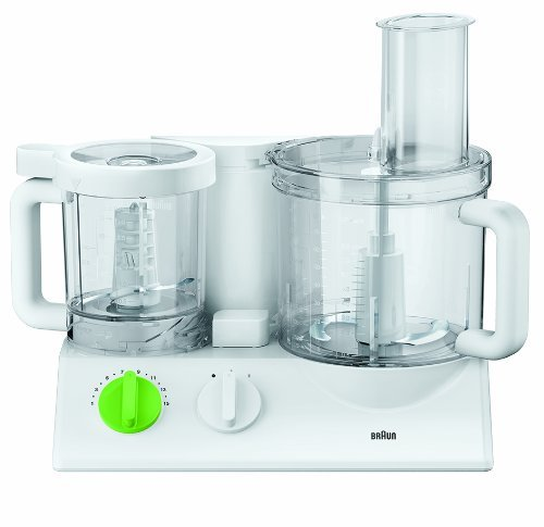 Braun FX 3030 - Robot de cocina (Verde, Color blanco, De plástico)