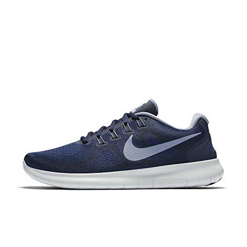 Nike Herren Free Rn 2017 Laufschuhe, Blau (Binary Blue/Dk Sky Blue/Obsidian/Gym Blue/Lt Armory Blue/Wolf Grey), 42.5 EU