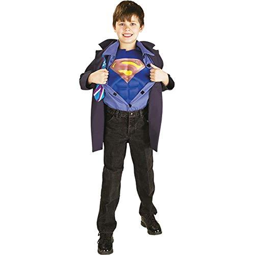 Für Kent Kostüm Clark Jungen - Superman Clark Kent Kinderkostüm - 116cm