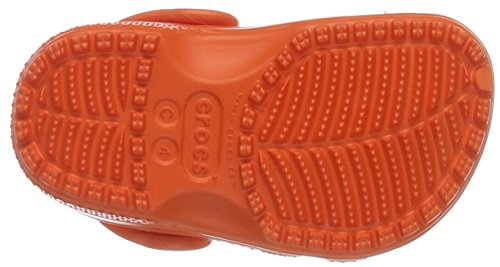 Crocs 204536, Zoccoli Unisex Bambini Arancione (Tangerine)
