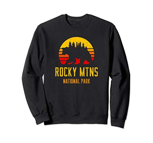 Geschenk für Outdoorsman - Rocky Mountains National Park Sweatshirt -