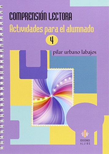 Comprensión lectora 4 (Cuad. Refuerzo Y Apoyo) - 9788497008044