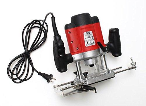 DeTec Set Oberfräse Fräsmaschine Fräse OF 1200 Watt Tisch-Fräsmaschine + Oberfräsentisch OFT 870 - 4