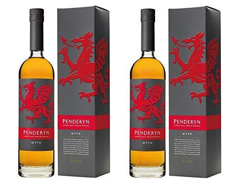 Penderyn Whisky aus Großbritannien 2er Sparpack Penderyn Myth 41% vol (2 x 0,7 Liter)