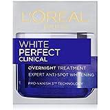 L'Oreal Paris White Perfect Clinical Overnight Cream, 50ml