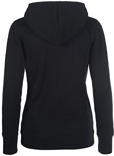 DESIRES Derby – Sweat à capuche zippé - Femme Black (9000)