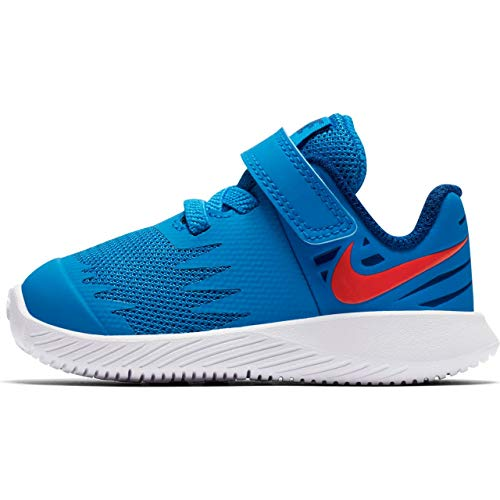 Nike Jungen Star Runner (TDV) Leichtathletikschuhe, Mehrfarbig (Photo Blue/Red Orbit/Indigo Force/White 408), 26 EU Blue Star Schuh