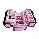 23 Stücke Kinderschminke Schminkkoffer Koffer Schminkset Kinder Schminkkoffer Mädchen Schönheit Spielzeug Geschenk für Kinder