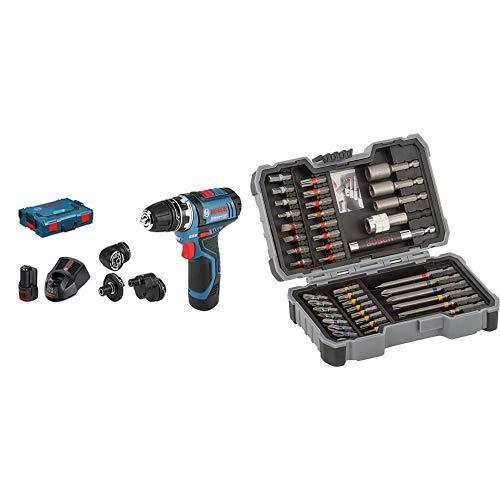 Bosch Professional GSR 12V + Bosch 2 607 017 164 Set