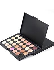 Toamen Palette de fard à paupières 28 couleursNeutre Nus Chaud Maquillage Cosmétique pour Femmes (A)