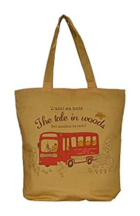 Lustre Crafts Tote Bag (Brown)