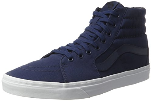 Vans Ua Sk8-Hi, Sneakers Hautes Homme Bleu (Mono Canvas Dress Blues/true White)