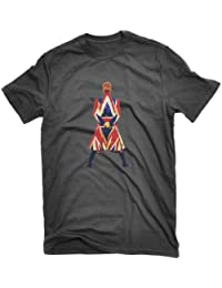 David Bowie Earthling T-shirt Union Jack