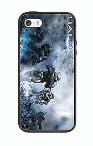 Case/Schutzhülle, Motiv Spiel Halo HL03 für Iphone 5c, Motiv Border Gummi Silikon @pattayamart Schwarz