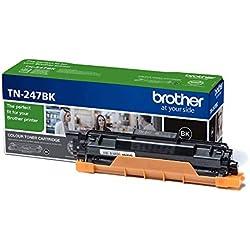 Brother TN-247BK | Cartouche de toner original | Imprime jusqu'à 2 300 pages | Noir