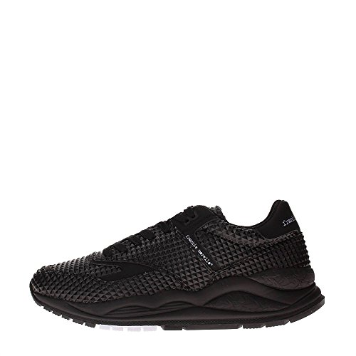 Frankie Morello BurningM-03BK Sneakers Uomo Sintetico NERO NERO 42