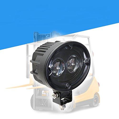 Preisvergleich Produktbild yuguo 10W LED Warnleuchten Blue Spot Lampe 10V-150V für Gabelstapler Sicherheit (rot)