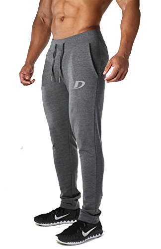 "Decisive Fitness Gym Track Pant , Workout Pant,Track Pant, Sports Track Pant - Grey Melange (Large (32"" to 36"" Waist))"