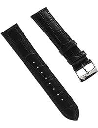 Festina Reloj de pulsera elegante material de la correa piel Negro para Festina F16745, F16744Relojes
