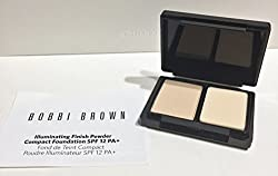 Bobbi Brown Illuminating Finish Powder Compact Foundation SPF 12 Warm Ivory 1 (Travel Size)