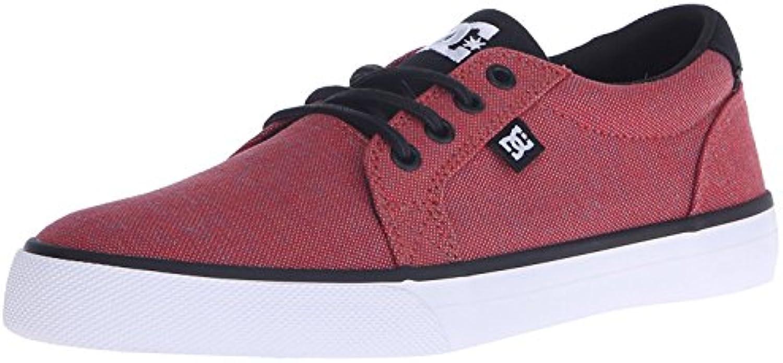 DC Men's Council TX SE Skateboarding Shoe, Red/Heather, 38 D(M) EU/5 D(M) UK
