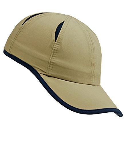 EveryHead Fiebig Herrenbasecap Basecap Baseballcap Sommercap Kappe Streetwear zweifarbig mit Klettverschluss und Supplex für Männer (FI-47304-S16-HE0-87-58) in Camel, Größe 58 inkl...