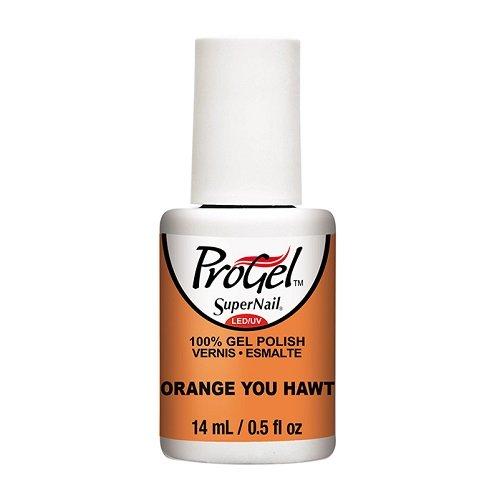 SuperNail ProGel LED/UV Vernis à Ongles - Tropical Pop! Collection - Orange You Hawt - 14ml