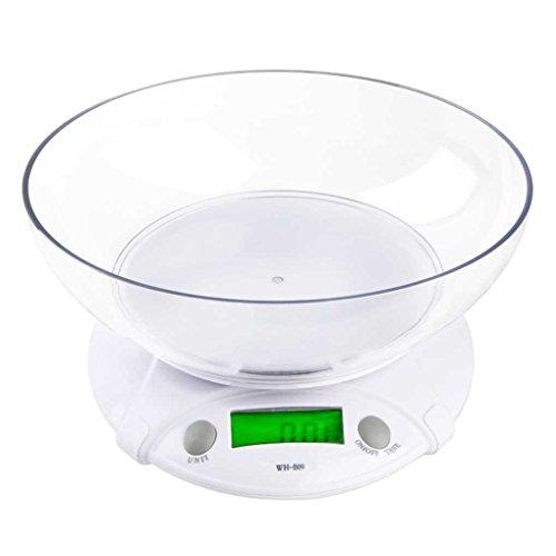 coconut WH-B09L 7KG * 1G elektronische K¨¹chenwaage Tragbarer LCD-Digital-Nahrungsmitteldi?t-Skala-Balance Gewicht-Werkzeug mit - Essen-gewicht-digital-skala