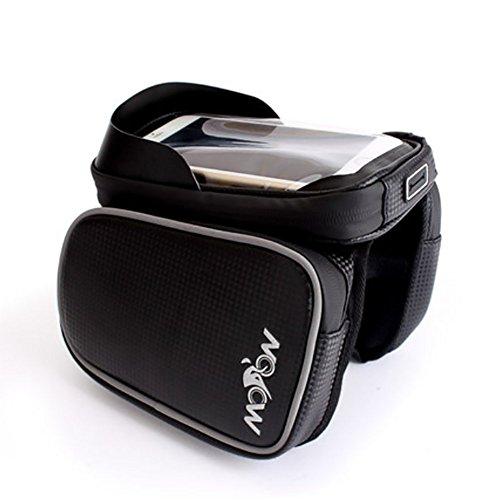 RUIX Fahrradtasche Fahrrad Mountainbike Front Strahl Tasche Rohr Reitausrüstung Zubehör Fahrrad Tasche Satteltasche