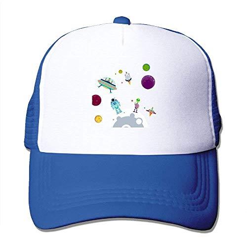 The Planet Cartoon Adjustable Sports Mesh Baseball Trucker Kappen Hüte Multicolor39 ()