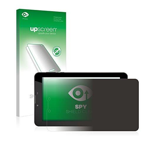 upscreen Anti-Spy Blickschutzfolie für GoClever Quantum 700 Mobile Pro Privacy Screen Displayschutzfolie - Sichtschutz, Kratzfest Mobile Privacy Screen