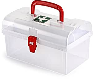 Cello Plastic Medical Box, White