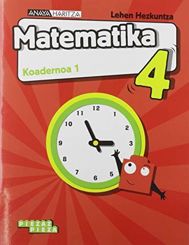 Matematika 4. Koadernoa 1. (Piezaz pieza)