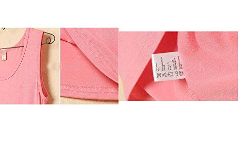 T-Shirt Frauen T-Shirt Comfy Kurzarm T-Shirt Grau 01
