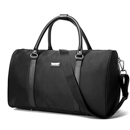 Borsa da viaggio/pacchetto business travel/one-spalla borsetta/borse breve/borsa da viaggio obliqua-Nero Nero