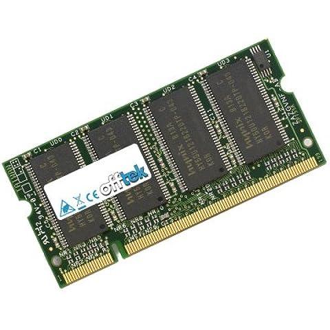 Memoria RAM de 256MB para Asus A2K (A2000K) (PC2700) - actualización de Memoria para portátil