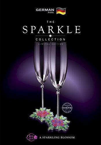 Deutsche Pool–das Funkeln collectiontmpeony Serie–Champagner Glas Set (Sektgläser Funkeln)