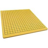 Quantum Abacus Xiangqi & Go Spielbrett - hochwertiges Spielfeld für Go (19x19 Felder) und chinesisches Schach aus schwerem Holz (3,5kg), nur Spielbrett, keine Spielsteine, 57cm x 54cm x 1,5cm, Mod. CL-015