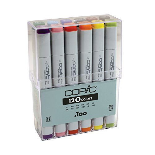 Copic classic Basis Marker 12-er Set