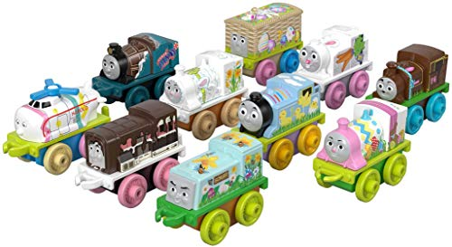Thomas and Friends GFX16 MINIS Spring Basket 10 Pack of MINIS engines