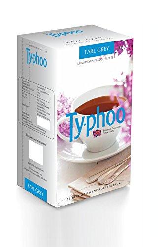 Typhoo Flavoured Earl Grey Tea, 25 Tea Bags
