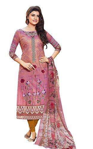 Pisara Women's Salwar Suit Unstitched Dress material,Multicolour