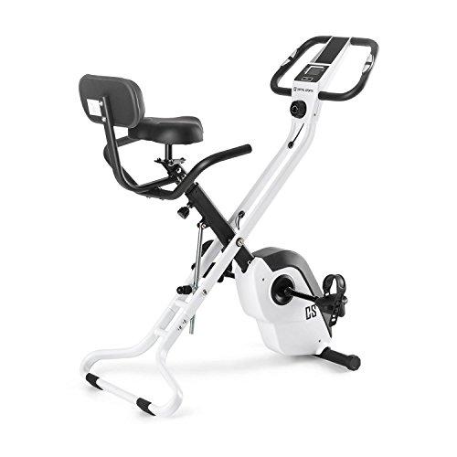 Capital Sports Azura X1 X-Bike • Ergometer • Pulsmesser • 8-stufiger Widerstand • 7 Stufen höhenverstellbar • Rückenlehne • max. 120 kg • weiß