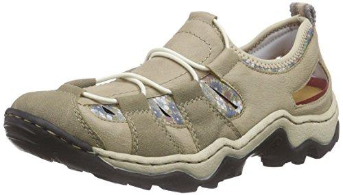 Rieker L0261 Women Low-top Damen Sneakers Beige (pebble/lino/kornblume/beige / 60)